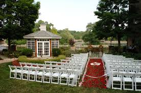 innovative outdoor and indoor wedding venues decorating with