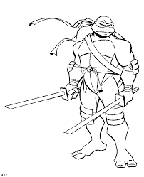 tmnt leonardo coloring pages coloring