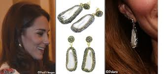 buckingham earrings kate soru baroque sided pearl earrings team gb buckingham