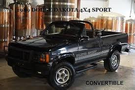 1989 dodge dakota sport convertible 1989 1990 dodge dakota convertibles collection on ebay