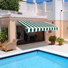 Electric Patio Awning Garden Awning Patio Sun Shade Canopy Shelter With Replacement