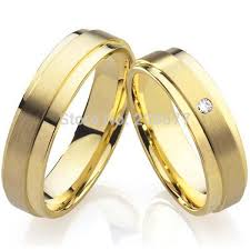 couples rings gold images Couples wedding gold rings dropssol wedding promise diamond jpg