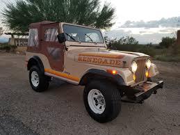 sand jeep for sale 1981 jeep cj5 renegade used jeep cj for sale in vail arizona