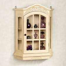 curio cabinet small curio cabinet wall mounted cabinets mount