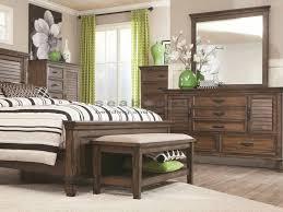 coaster bedroom set coaster 200971 franco burnished oak 6pc king bedroom set