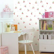 cherry pattern contact paper self adhesive peel stick wallpaper