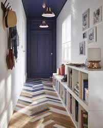 parquet blanc chambre deco couloir noir et blanc 1 couloir chic sol en parquet chic