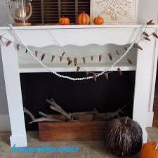 diy headboard to faux fireplace reveal u2013 home on the corner