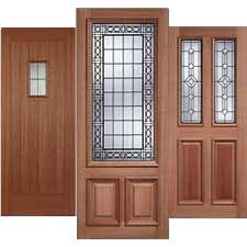 Hardwood Door Frames Exterior 35 Exterior Doors In Oak Hardwood External Folding Doors