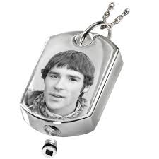 photo engraved dog tags laser photo engraved dog tag cremation jewelry