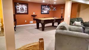 basement game room aspen construction llc