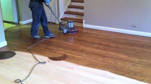 Restoring Hardwood Floors Without Sanding Staining Hardwood Floor In Naperville Youtube