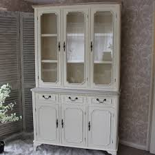 3 Door Display Cabinet Provence Large Glazed Display Cabinet With 3 Drawers 3 Doors