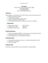 resume for high students templates for powerpoint resume resume exles for graduate template new high