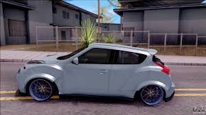 juke nismo nissan juke nismo rs 2014 rocket bounny custom for gta san andreas