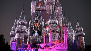 walt disney world cinderella castle at christmas on vimeo