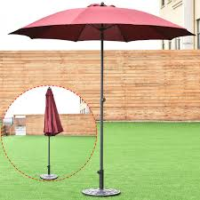Cheap Patio Umbrella by 8 2ft Height Adjustable Outdoor Patio Umbrella Outdoor Umbrellas