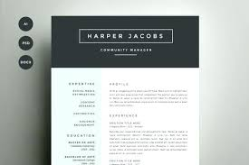 free creative resume templates word free creative resume template word