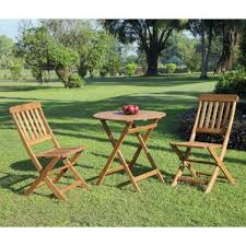 Folding Bistro Table And Chairs Set Outdoor Bistro Set