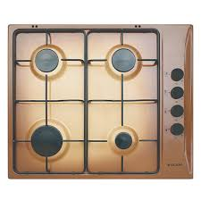glem piani cottura glem gas gtl64tf piano cottura a gas 60 cm 4 fuochi colore terra