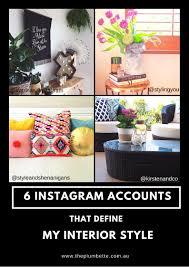 home design instagram accounts six instagram accounts that define my interior style the plumbette