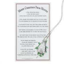 merry christmas from heaven merry christmas from heaven keepsake locket w memory box the