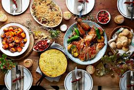 fancy dinner table with food 26 thanksgiving menu ideas thanksgiving