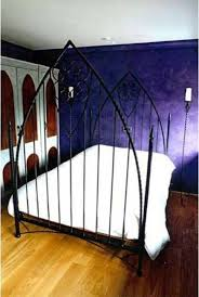 ideas wondrous gothic iron bed frames gothic bedroom with purple