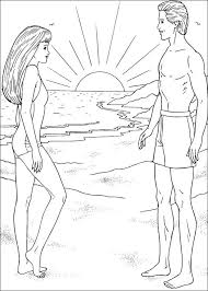 barbie coloring pages barbie ken coloring pages print