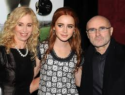 Collins The Blind Side Phil Collins And Lily Collins Photos Photos Premiere Of