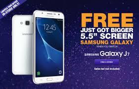 metro pcs black friday metropcs invites you to switch with new free samsung galaxy j7