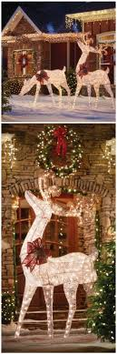 christmas outdoor decorations 75 cool christmas outdoor decorations ideas decomg