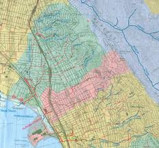 map of oakland historic creek maps