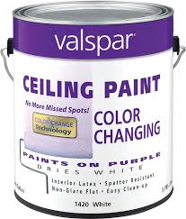 amazon com valspar 1420 color changing latex ceiling paint 1