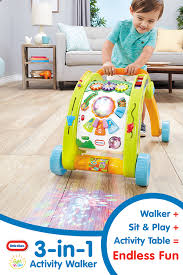 baby standing table toy light n go 3 in 1 activity walker activities toy and plays