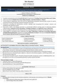 Sample Resume Format For Assistant Professor In Engineering College by Sample Resume Format For Lecturer In Engineering College Computer