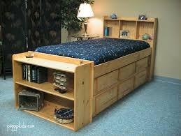 bookcase captain s bed custom by chris davis lumberjocks com