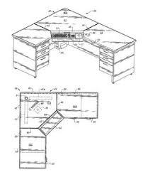 Office Desk Plans Corner Desk Measurements Home Office Pinterest Desks Corner