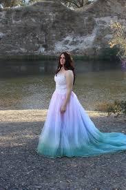 tie dye wedding dress fairytale tie dye wedding dress by rapunzelrose on etsy wedding