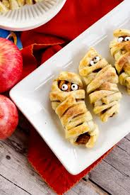 Baking Halloween Treats Halloween Mummy Apple Crypts U2014 Home U0026 Plate Easy Seasonal Recipes