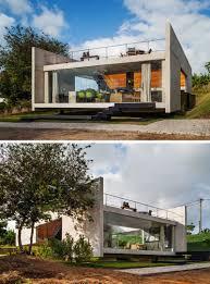 modern exterior 13 modern house exteriors made from concrete contemporist