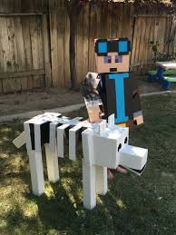 Minecraft Costume Halloween Minecraft Dantdm Costume Grim Projects