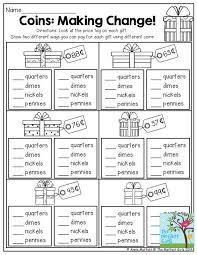 making change worksheets 2nd grade worksheets