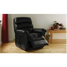 warwick powerlift recliner chair black furnico village