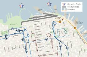 Embarcadero Bart Station Map by San Francisco Fireworks 4th Of July 2017 Funcheap
