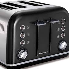 Morphy Richards Accents Toaster Review Morphy Richards 242018 Graphite Accents 4 Slice Toaster