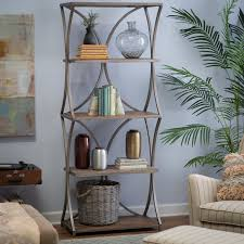 iron off the living room wood bookcase shelves display showcase flower jewelry rack shelf ikea belham living edison reclaimed wood bookcase from hayneedle com