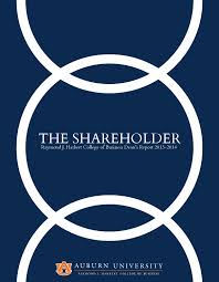 the shareholder 2014 by auburn university harbert college of