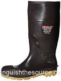 s rubber boots canada 6 pair majestic knee height plain toe rubber boot size15 black