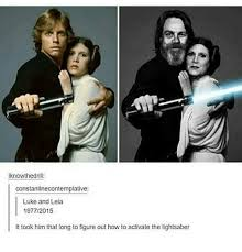 Leia Meme - iknowthedrill constantinecontemplative luke and leia 19772015 it